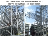 Erection of Structure for Colombia Project