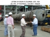 Lifting of Drum at Colombia Site For